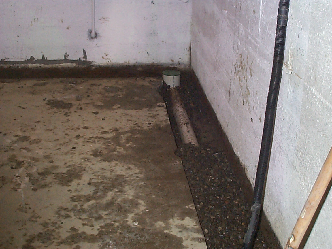 Wet Basements Allied Waterproofing Drainage